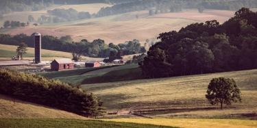 Rockbridge County Farm Scene