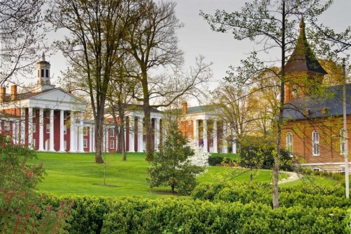 Washington and Lee University with Lee Chapel