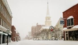 Snow on Main Street