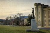 George C. Marshall Statue on VMI Campus